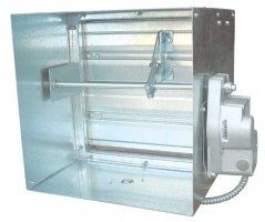 FIRE/SMOKE DAMPER AIRFOIL BLADE IN UAE from PRIME AIR CONDITIONING INDUSTRIES LLC