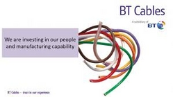 BT Cables Industrial Supplier In UAE from TRICO BUILDING MATERIALS LLC