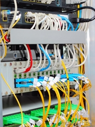 Network cabling and Fiber Optics cabling from AL RUWAIS ENGINEERING CO.L.L.C