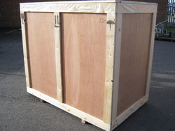 Wooden packing boxes from IDEA STAR PACKING MATERIALS TRADING LLC.
