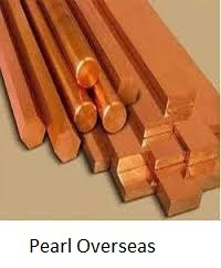 Copper Round Bar from PEARL OVERSEAS