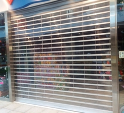 polycarbonate shutters in dubai from DOORS & SHADE SYSTEMS