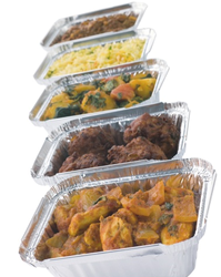 Aluminum Foil Food Containers in dubai from HOTPACK PACKAGING INDUSTRIES LLC