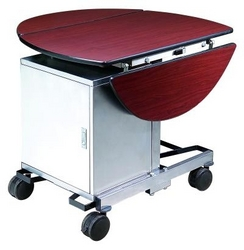 ROOM SERVICE TROLLEY WITH HOT BOX 044534894  from ABILITY TRADING LLC