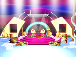 WEDDING & EVENTS STAGE DESIGN IN 3D & ANIMATION from CREATIVE CHARM LANDSCAPING & POOLS