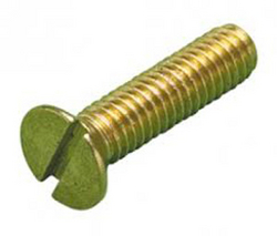 Machine Screw Flat Head Brass from CLEAR WAY BUILDING MATERIALS TRADING