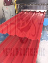 GI Red Roofing Sheet In  Africa  from GHOSH METAL INDUSTRIES LLC