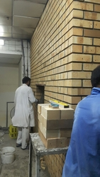 FIRE BRICKS DECORATIVE WALL OVEN from AL AWLAWEYAH TRADING