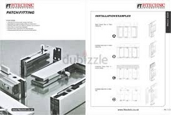 Glass Door Patch Fitting supplier in Dubai, Africa from AL MAJLIS HARDWARE TRADING EST