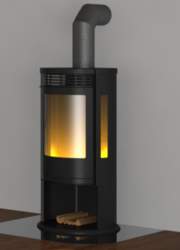 FIRE GAS STAINLESS STEEL CHIMNEY from JEREMIAS