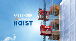 PASSENGER HOIST from AL QABDHA AL THAHABIA LIFTING AND LOADING EQUIPMENT MACHINERY TRADING