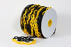 Safety Chain Yellow & Black from CLEAR WAY BUILDING MATERIALS TRADING