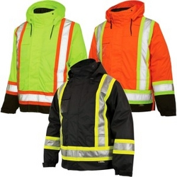 HIGH VISIBILITY JACKET & REFLECTIVE WINTER CLOTING from BETTER CHOICE BUILDING MATERIAL TRD. LLC