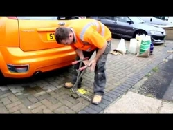 Parking Bollard Installation in Abu Dhabi  from GULF SAFETY ELECTROMECHANICAL (INFO@GULFSAFETYUAE.COM)