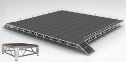 Stage decks from ROYAL FALCON EVENTS MANAGEMENT SERVICES LLC