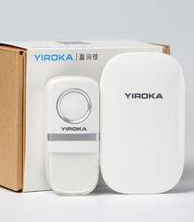 Newest design wireless doorbell from YIROKA ELECTRONICS CORP