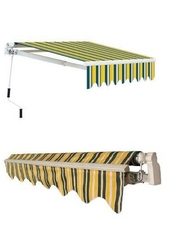Retractable & Fixed Awning from SAVE CHOICE GENERAL CONTRACTING & TRANSPORTING EST