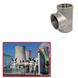 SS Tee for Power Plant from SHUBHAM ENTERPRISE