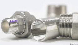 Duplex 2205 Hex Nipple from OM TUBES & FITTING INDUSTRIES
