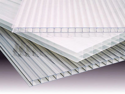 Twinwall Polycarbonate Sheet  from SABIN PLASTIC INDUSTRIES LLC