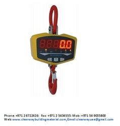 Digital Crane Scale & Digital  Weighing balance in abudhabi from CLEAR WAY BUILDING MATERIALS TRADING