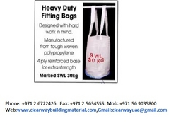 Scaffolding Lifting bag in Abudhabi Mussaffah from CLEAR WAY BUILDING MATERIALS TRADING