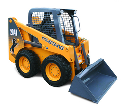 MUSTANG Skid Steer Loader from AL MAHROOS TRADING EST