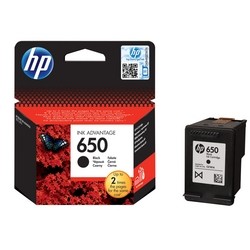 HP Cartridge (650-BLK) from AVENSIA GENERAL TRADING LLC