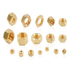 Brass Nuts from PEARL OVERSEAS