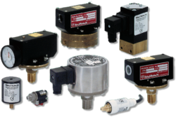 PRESSURE SWITCHES  from GULF SAFETY ELECTROMECHANICAL (INFO@GULFSAFETYUAE.COM)