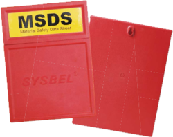 MSDS Document Box from REUNION SAFETY EQUIPMENT TRADING
