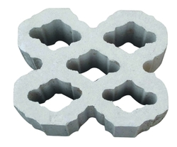 Concrete claustra block supplier in Ajman from ALCON CONCRETE PRODUCTS FACTORY LLC
