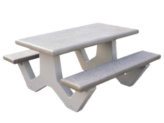 Concrete bench supplier in Oman from ALCON CONCRETE PRODUCTS FACTORY LLC