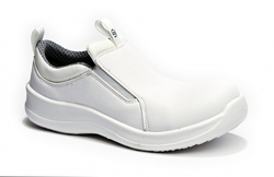 White Safety Shoes Supplier UAE from NOVA GREEN GENERAL TRADING LLC