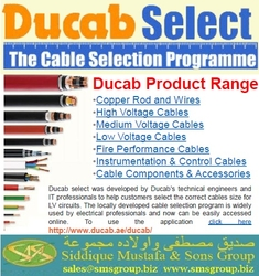 DUCAB WIRE from SIDDIQUE MUSTAFA & SONS LLC
