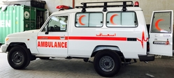 Ambulance Toyota Landcruiser Hard top VDJ 78 Diesel from DAZZLE UAE