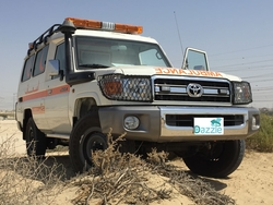 Toyota Land Cruiser 4x4 GRJ78 Petrol  from DAZZLE UAE