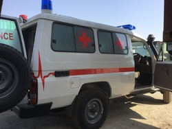 Toyota Land Cruiser Hard Top VDJ78L-RJMRYV-1D-HD2 Ambulance from DAZZLE UAE