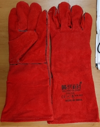 Welding Gloves Made in INDIA from CHYTHANYA BUILDING MATERIALS TRADING LLC DUBAI