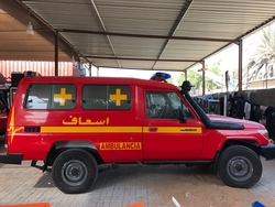 Brand new Ambulance Toyota from DAZZLE UAE
