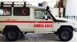 Toyota Ambulance UAE from DAZZLE UAE