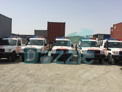 VDJ78 Land Cruiser Ambulance from DAZZLE UAE