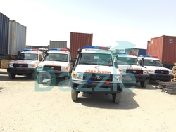 Ambulance Toyota Land Cruiser VDJ78  from DAZZLE UAE