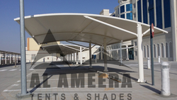 Car Parking Shades from AL AMEERA TENTS & SHADES