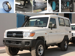 Toyota Land Cruiser 78 Armored  from DAZZLE UAE