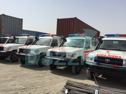 Ambulance Toyota 4x4  from DAZZLE UAE