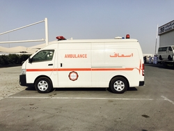 Hiace Ambulance UAE from DAZZLE UAE