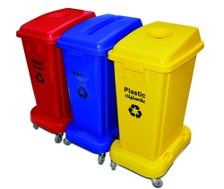 RECYCLING BIN FOR LABOUR CAMPS from ABILITY TRADING LLC