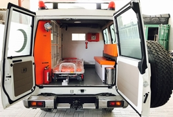 Toyota Ambulance Export  UAE from DAZZLE UAE