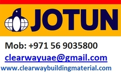 #Jotun #Paints #Abudhabi #Musaffah #Dealer from CLEAR WAY BUILDING MATERIALS TRADING